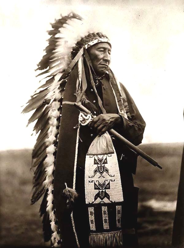 Chief Stinking Bear, 1905