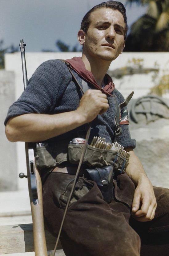 Italian (Anti-Fascist) resistance fighter,WWII