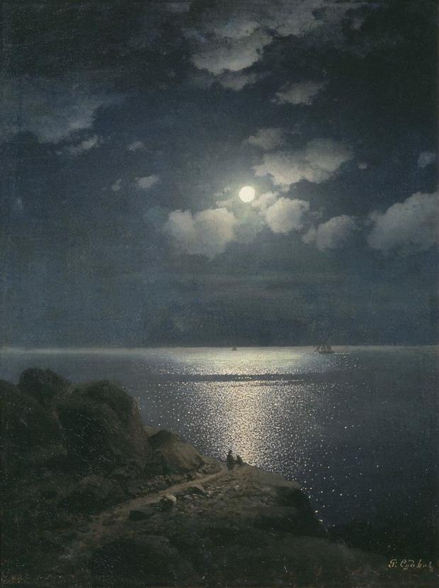 Painting by Rufin Gavrilovich Sudkovsky,1880