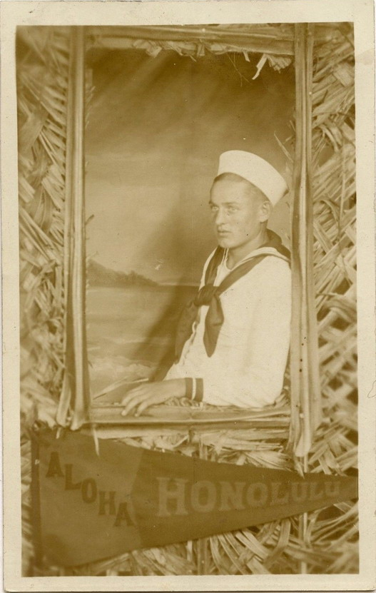 Sailor, Hawaii, WWII era