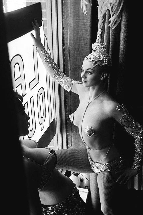 Las Vegas showgirls, photo by Peter Basch,1963