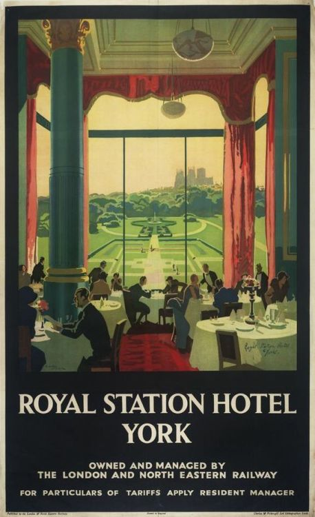 Royal Station Hotel, York, England