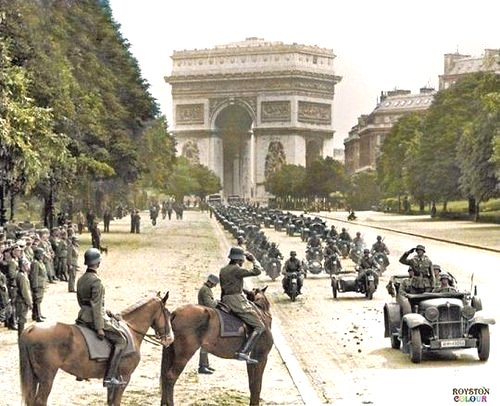 Paris sous occupation Nazi, 1940