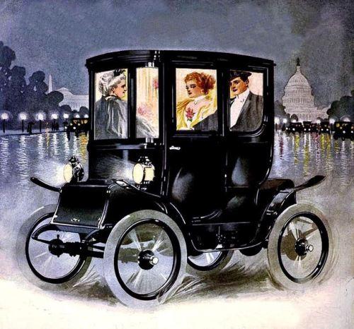 Electric car, 1910