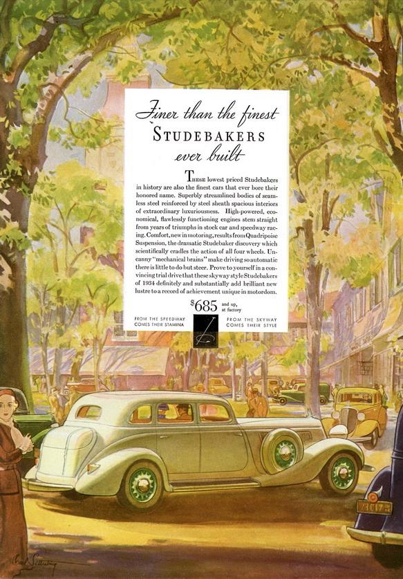 Studebaker, 1930s