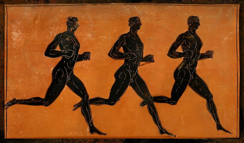 Ancient Running Men