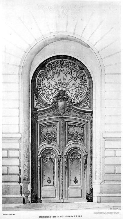 Art Nouveau Door,France