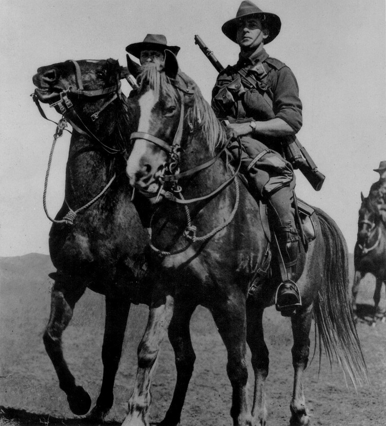 Australian troops, WWI