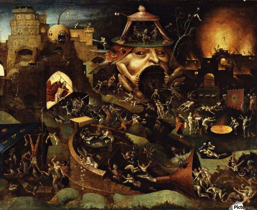Hieronymus Bosch – an epic battle