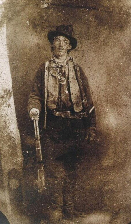 """Only known photo of outlaw """"Billy theKid"""""""