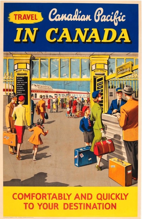 Canadian Pacific, 1950s