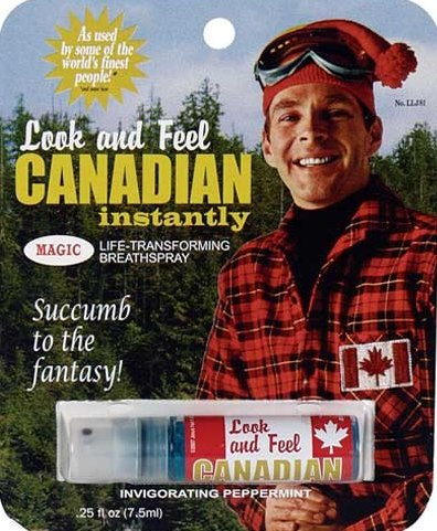 Life-transforming breath spray – Look and feel Canadian instantly!