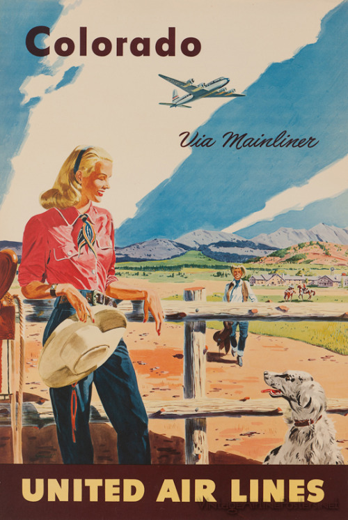 Colorado poster, early 1950s