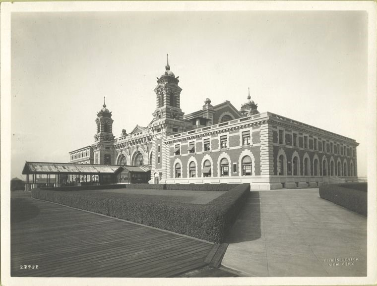 Ellis Island, US immigration centre, NYC