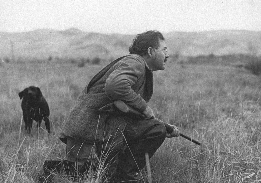 Ernest Hemingway hunting