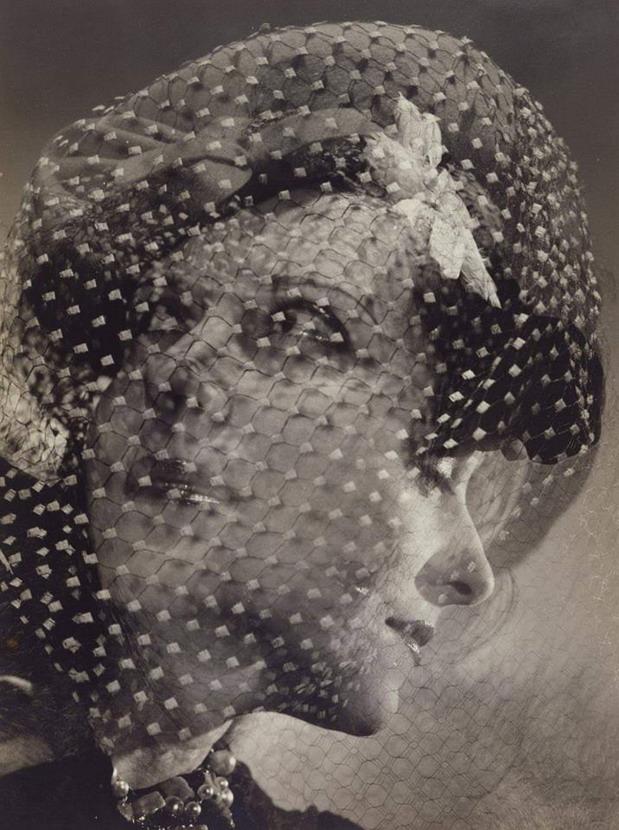 Gracie Allen, two faces, photo by George Platt Lynes,1938