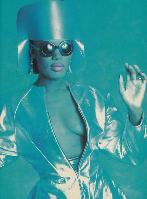 Grace Jones, 1980s