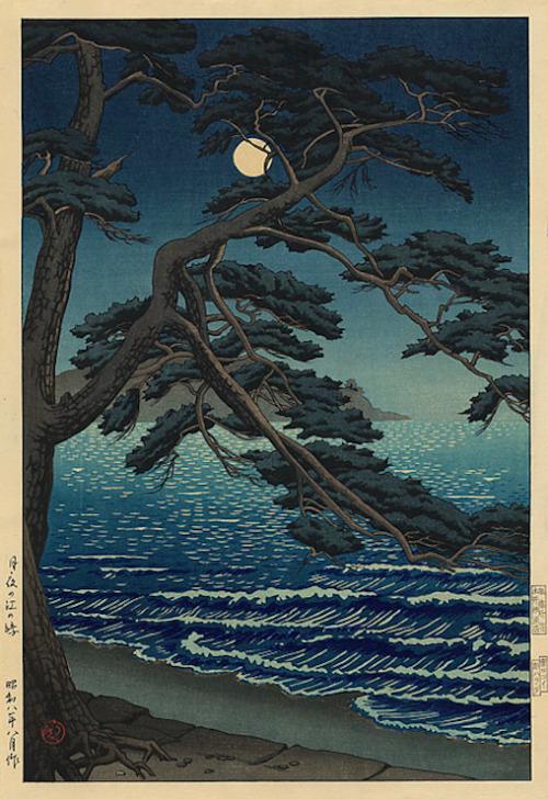 Ishiwata Koitsu, woodblockprint
