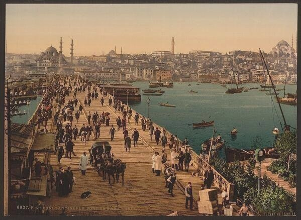 Constantinople, late 1800s