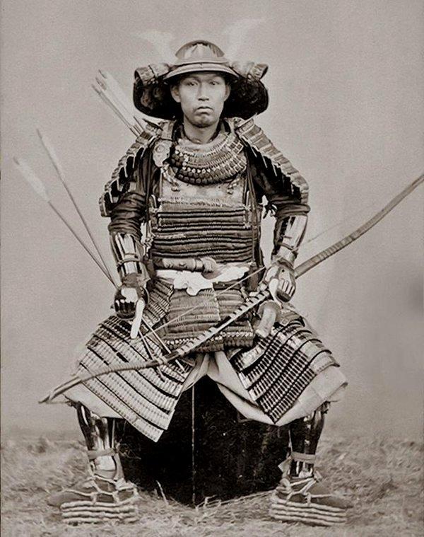 Japanese Samurai, 1800s