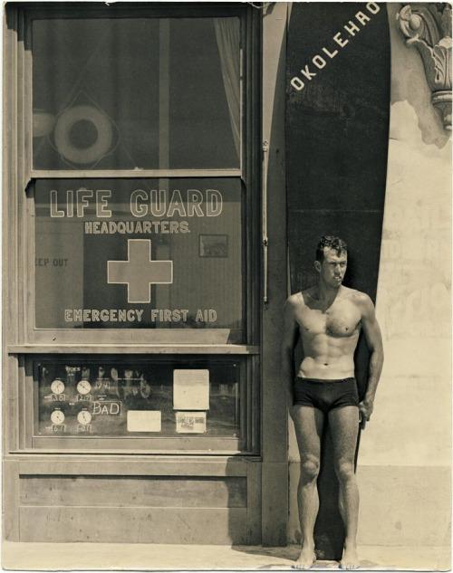 Vintage Life Guard