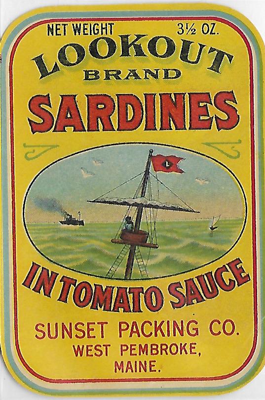 Vintage Maine Sardines