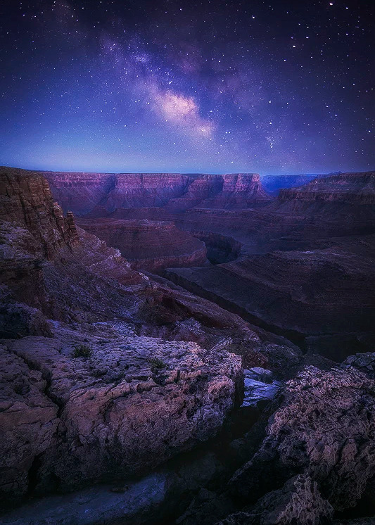 Grand Canyon, photo by PeterCoskun