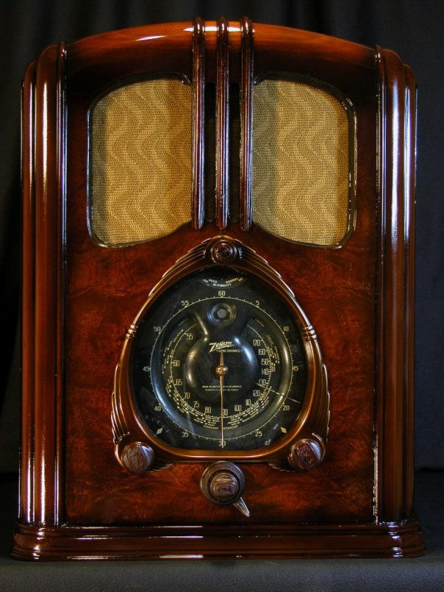 Zenith radio, 1937