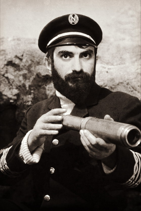 "James Mason as Captain Nemo in Jules Verne's ""20,000 Leagues Under the Sea"", 1954"