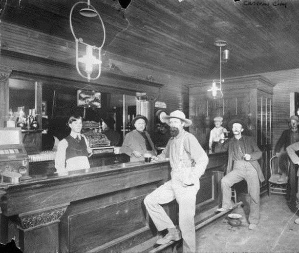 Saloon, Colorado, 1870s