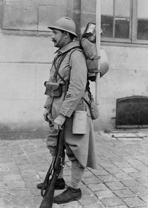 Soldat Francais, Premiere GuerreMondiale
