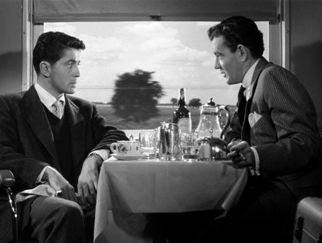 "Alfred Hitchcock's ""Strangers On a Train"""