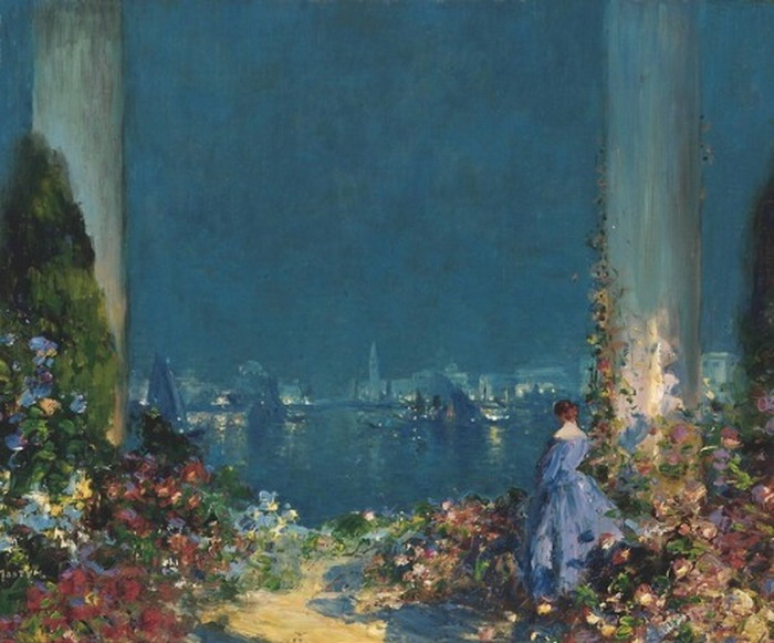 Painting by Thomas Edwin Mostyn