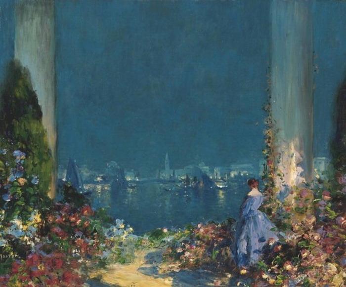 Painting by Thomas EdwinMostyn