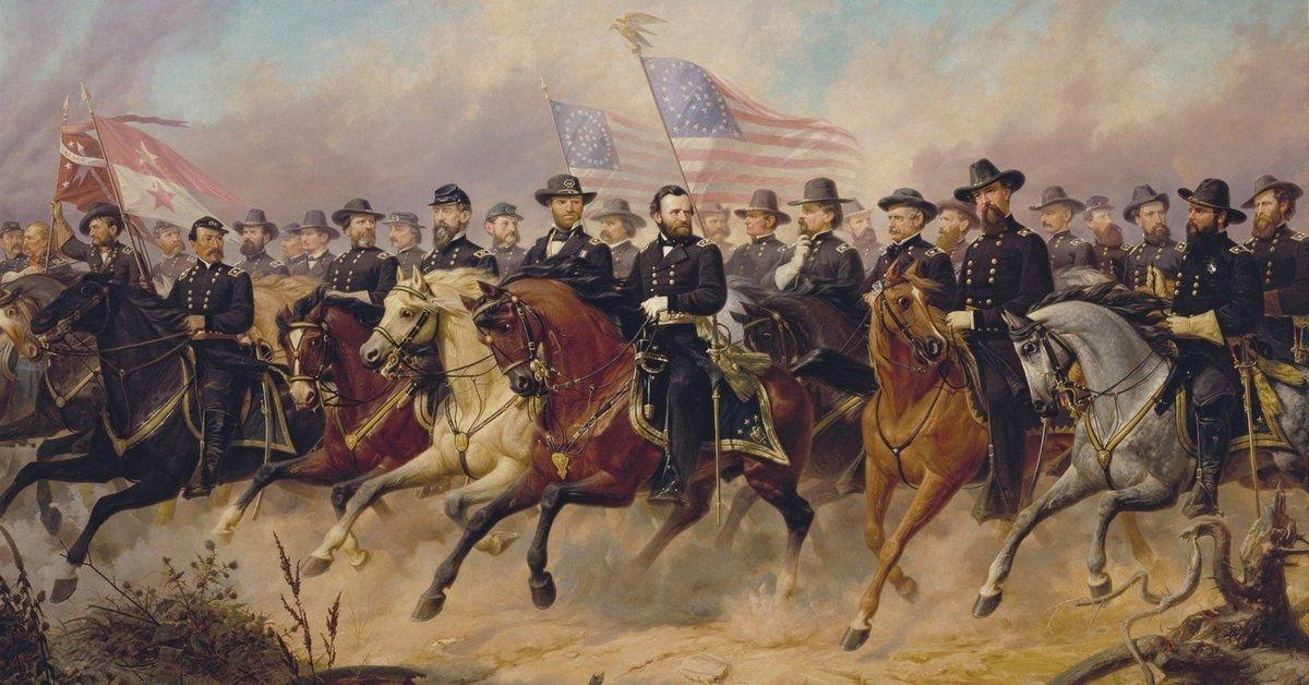 Ulysses S. Grant and his Generals, US Civil Warera