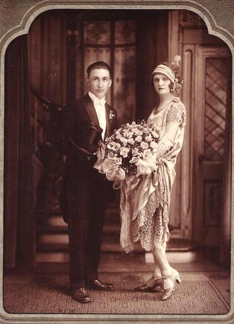Vintage wedding photo (1920s?)