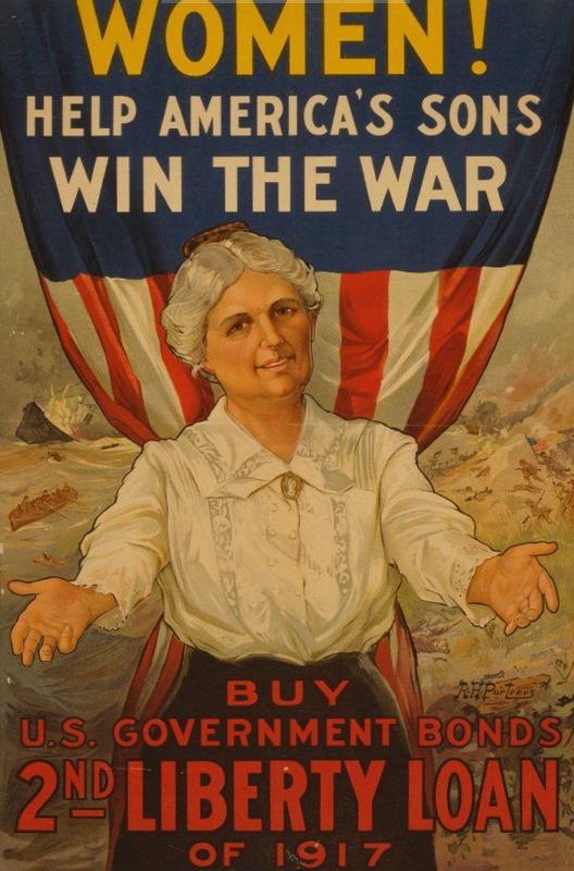Liberty Loans, US, WWI,1917