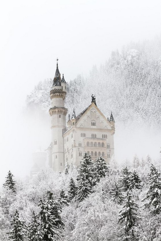 Castle in Bavaria (Germany)