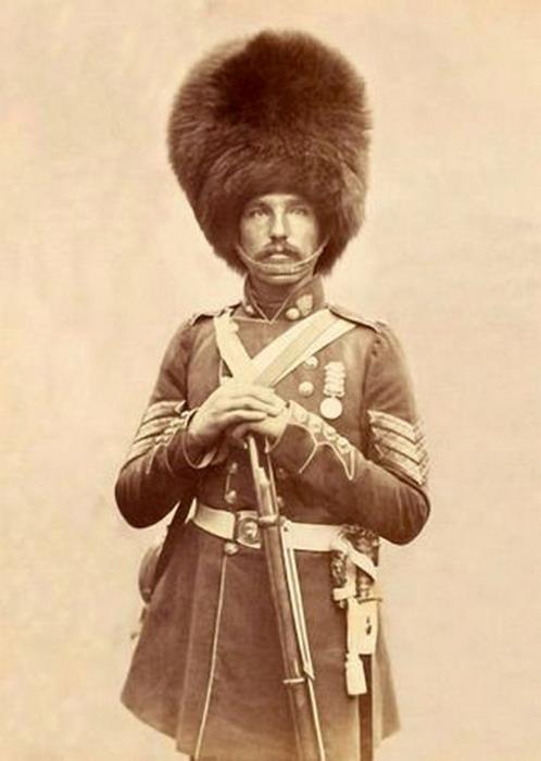 British veteran of the Crimean War,1850s