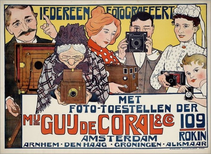 Camera advertisement poster, Netherlands