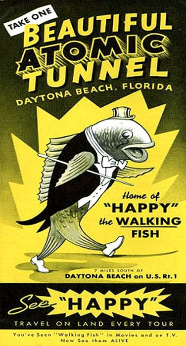"""Happy"", the Walking Fish"