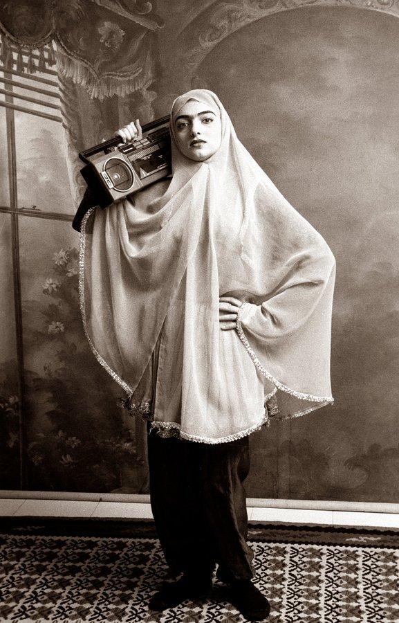 Iranian woman, 2002