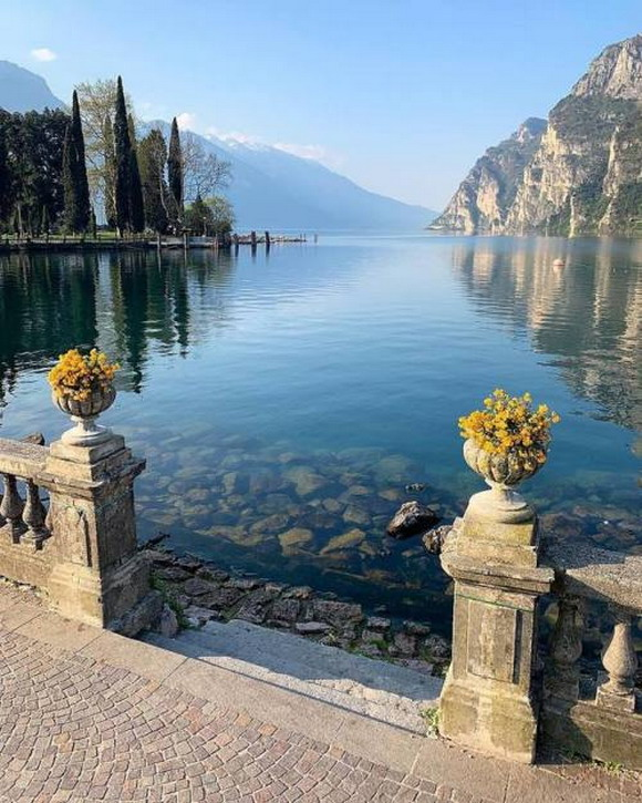 In the Lake District, northernItaly