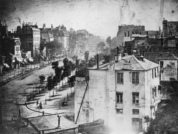 One of the very earliest photos of London,1838