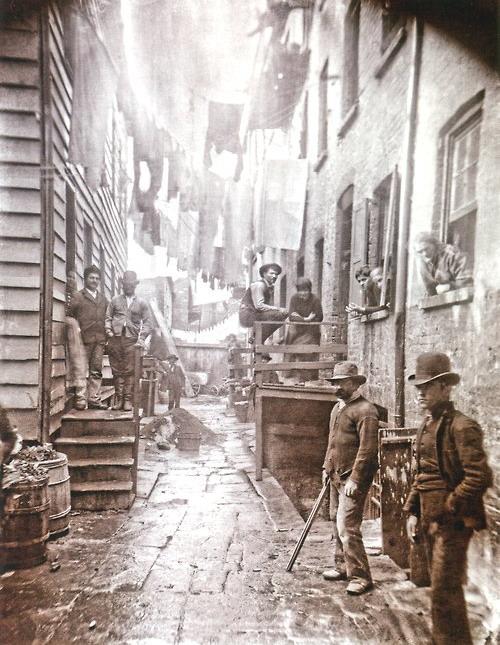 Thug life, NYC,1800s