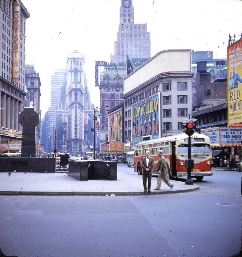 Times Square, NYC,1952