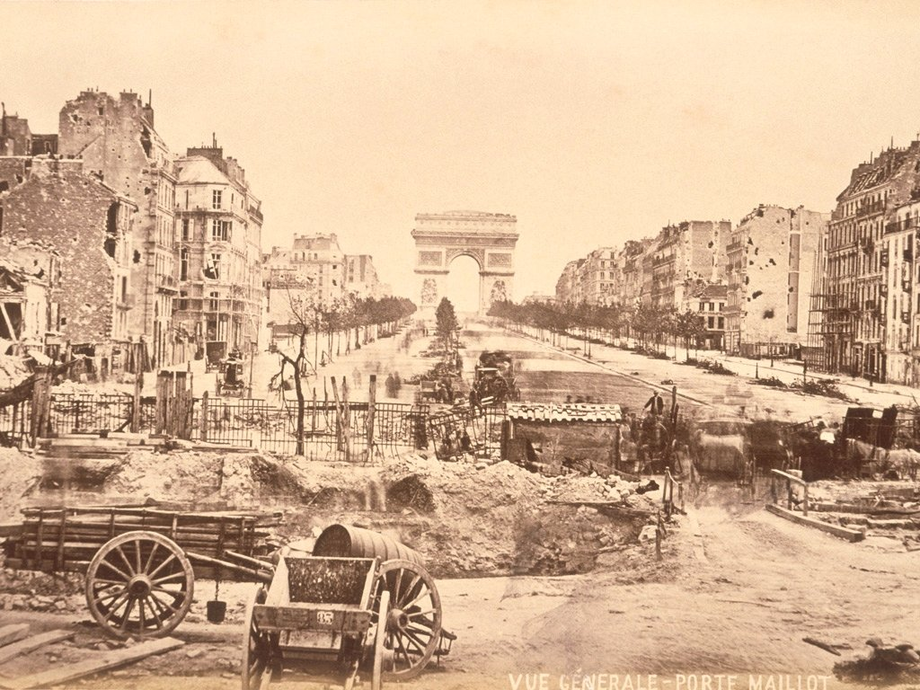 Paris after the War of 1870
