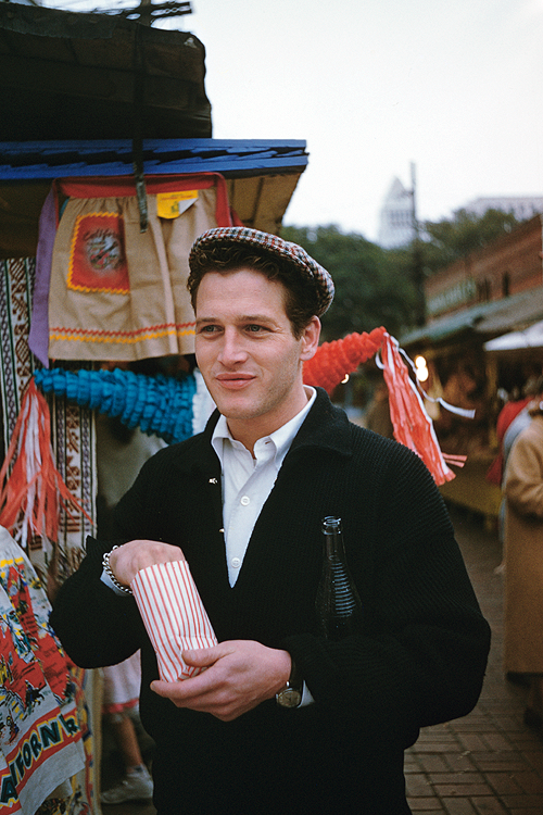 Young Paul Newman when he first arrived in Los Angeles/Hollywood, early1950s