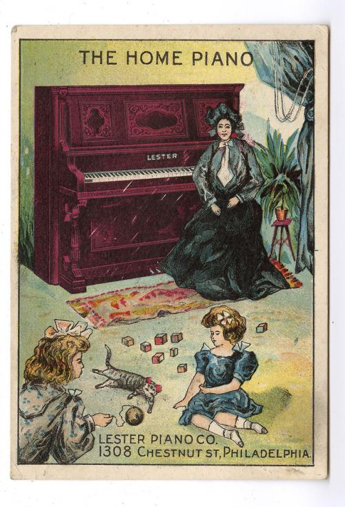 The Home Piano, Philadelphia,1800s