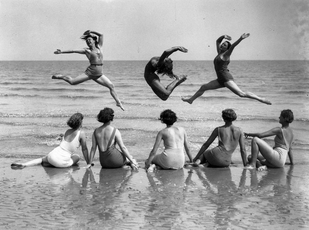 Seashore models, 1930s